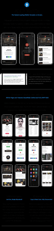 AMP Mobile | Mobile Google AMP Template - 8