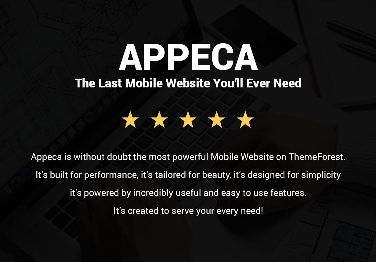 Appeca Ultimate Mobile Template - 9