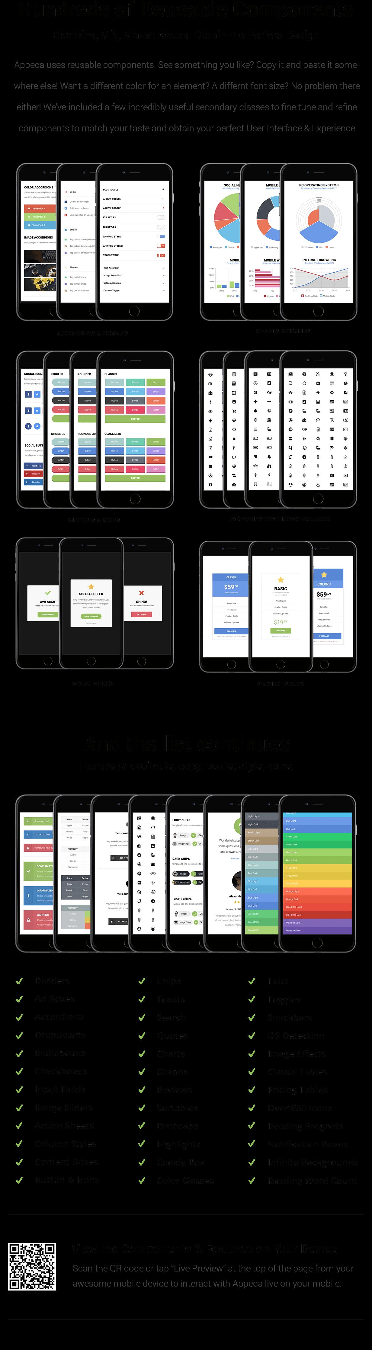 Appeca Ultimate Mobile Template - 12