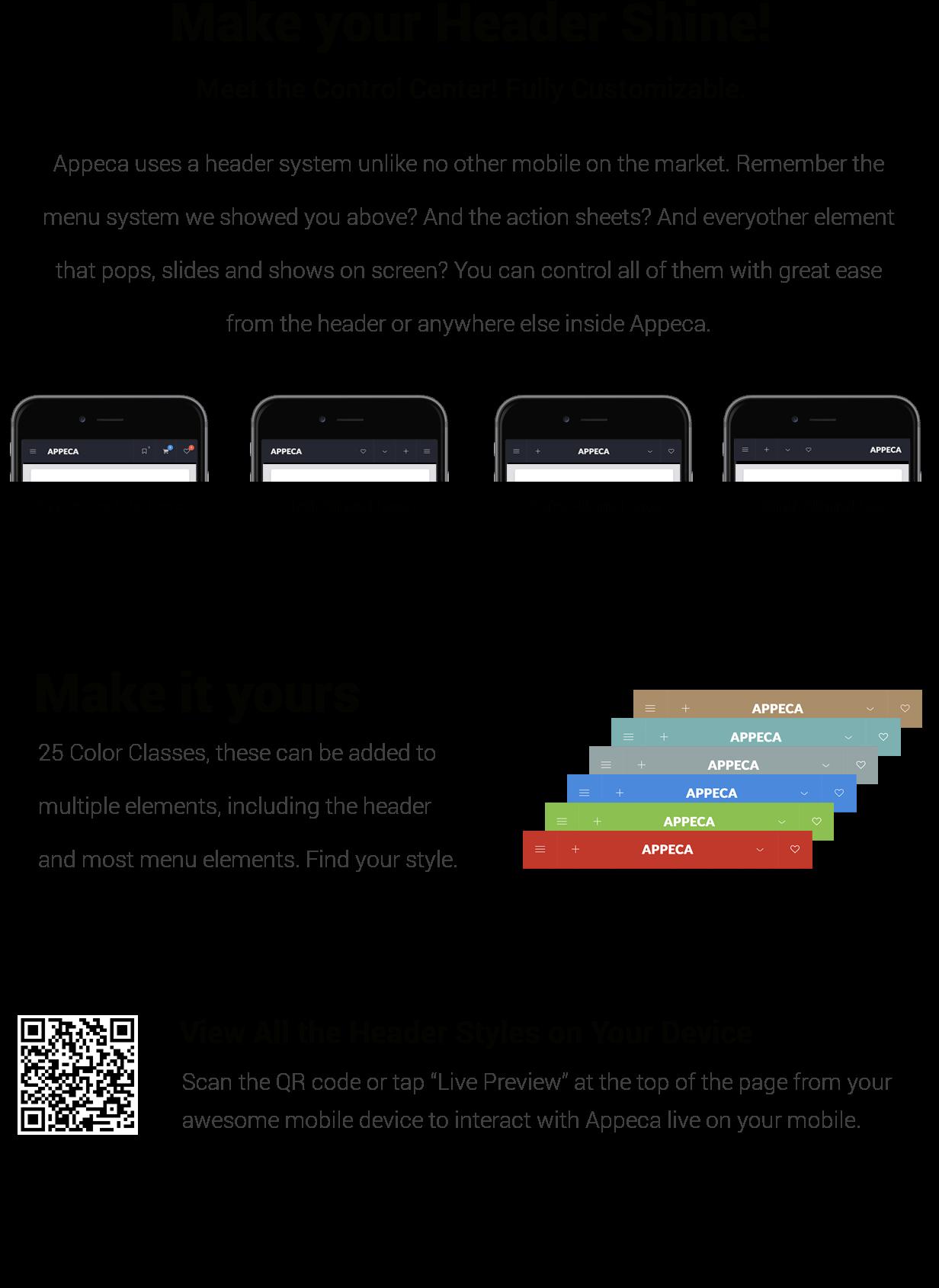 Appeca Ultimate Mobile Template - 14