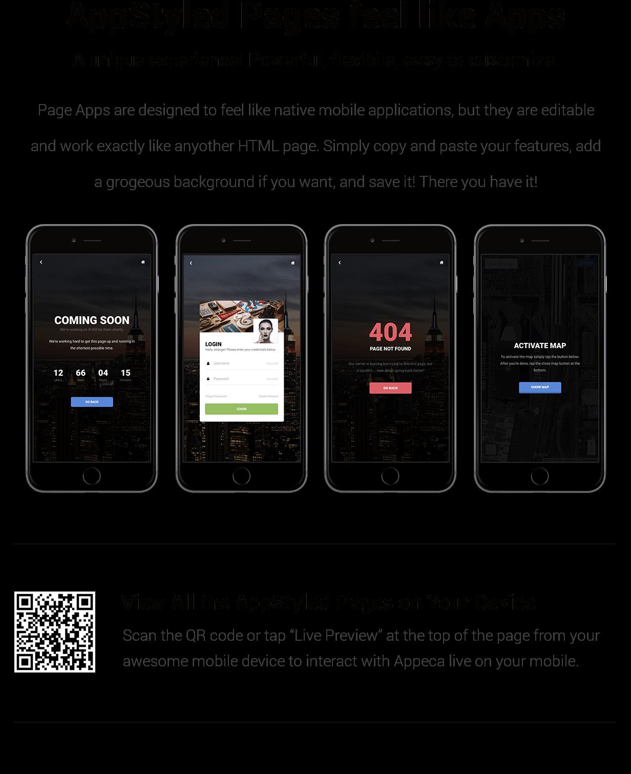 Appeca Ultimate Mobile Template - 18
