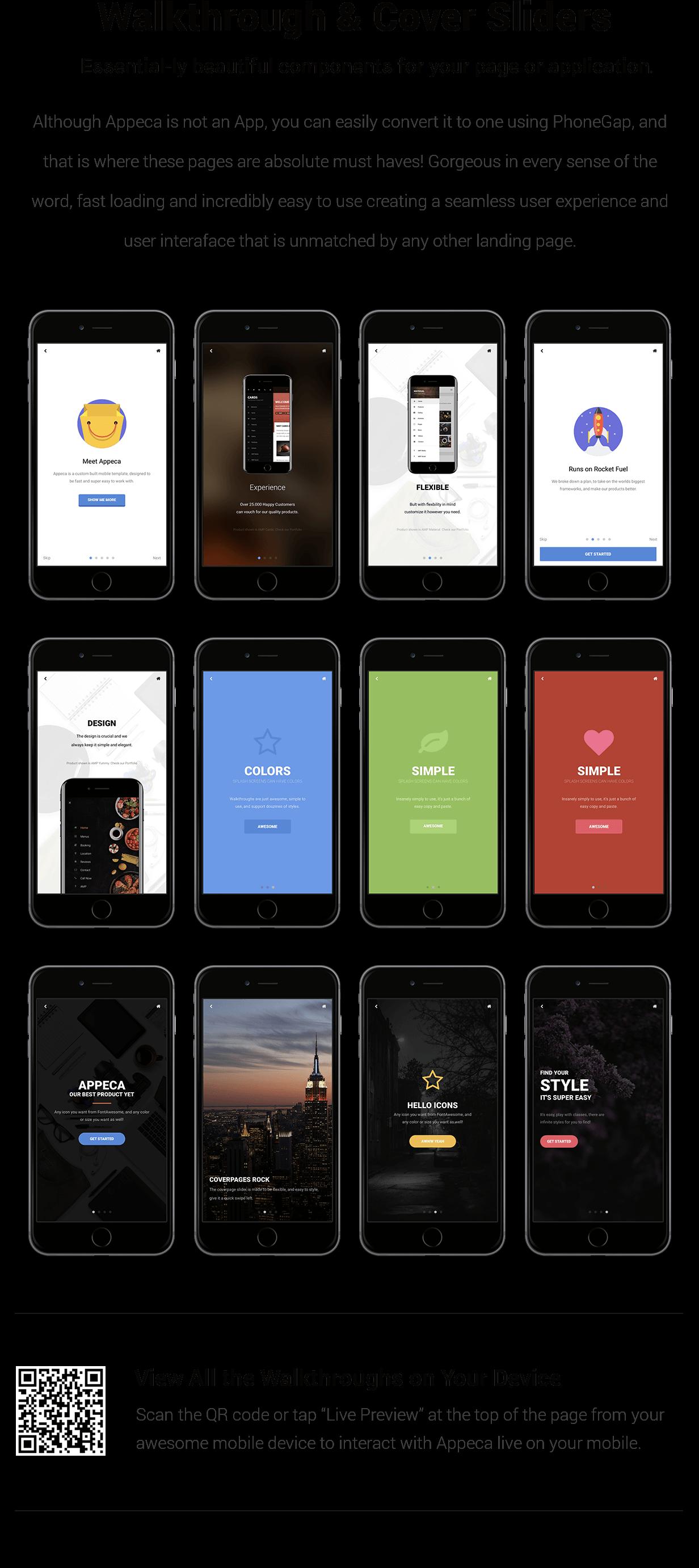 Appeca Ultimate Mobile Template - 19