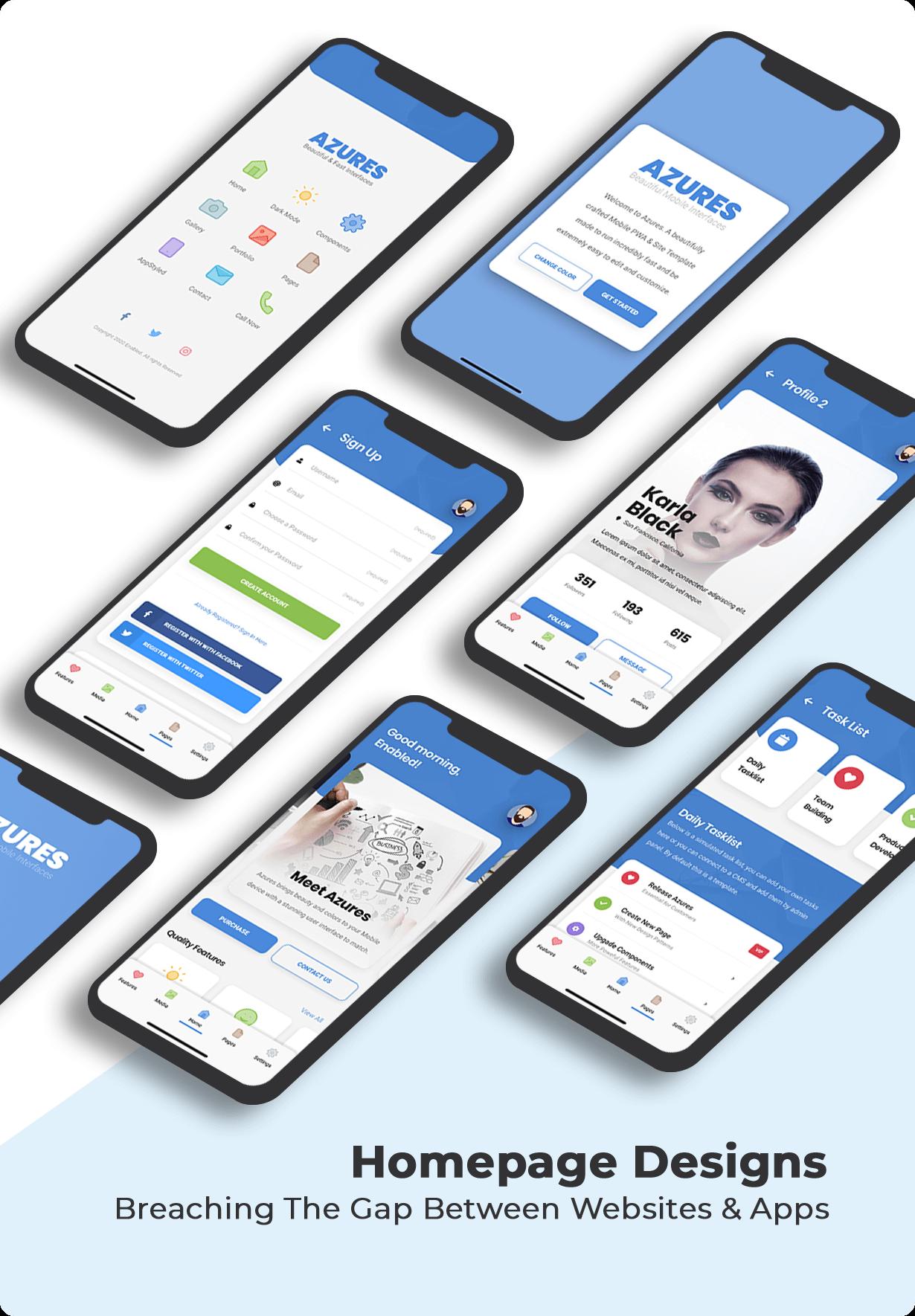 Azures Mobile   PhoneGap & Cordova Mobile App - 16