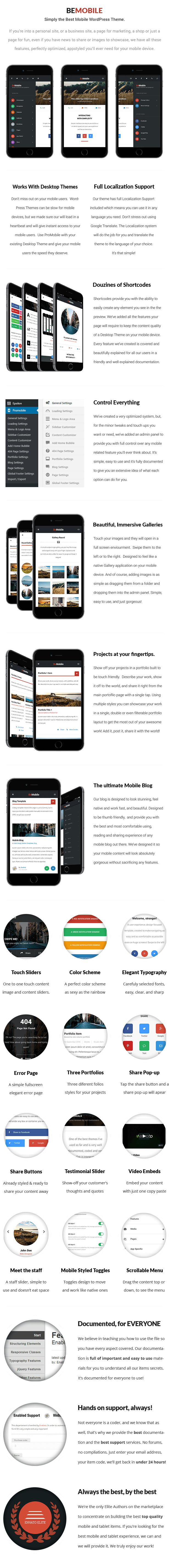 Be Mobile Theme | Mobile WordPress Theme (WooCommerce Ready) - 9