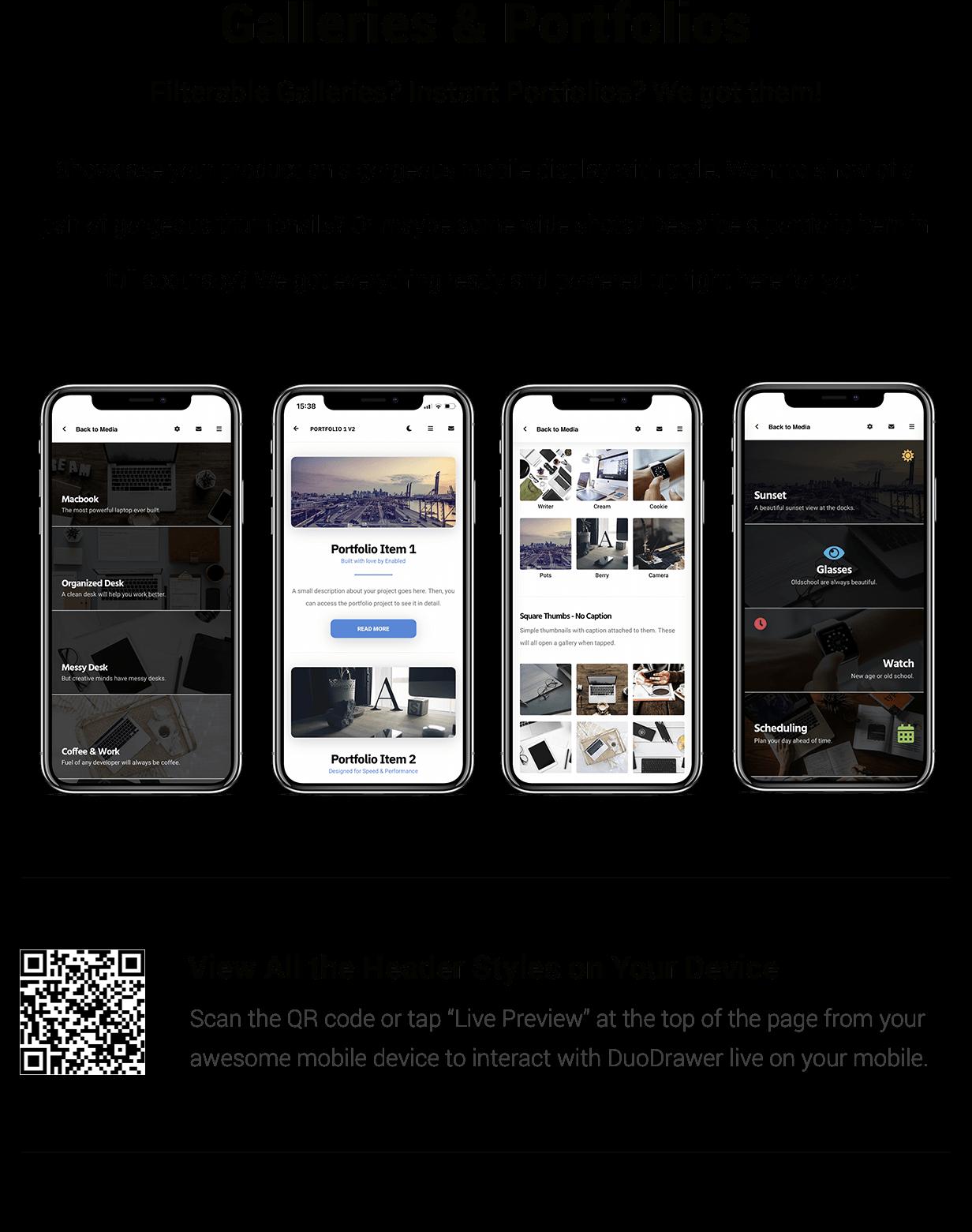 DuoDrawer Mobile   PhoneGap & Cordova Mobile App - 12