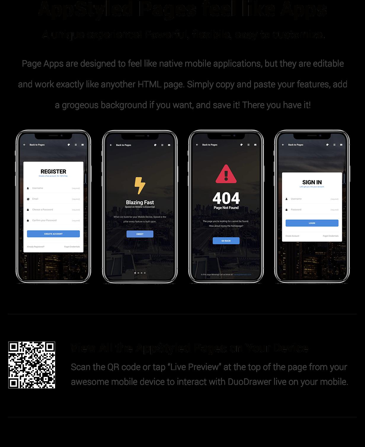 DuoDrawer Mobile   PhoneGap & Cordova Mobile App - 15