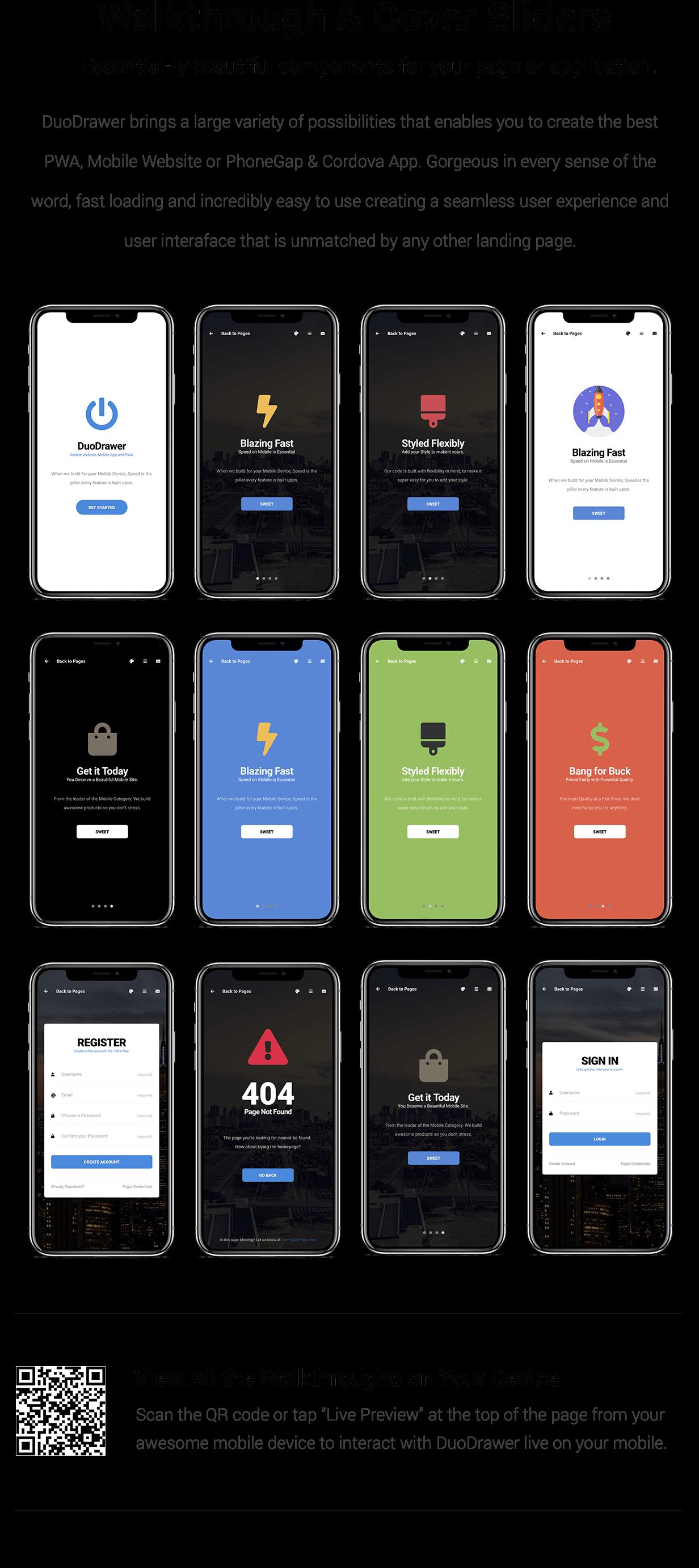 DuoDrawer Mobile   PhoneGap & Cordova Mobile App - 16