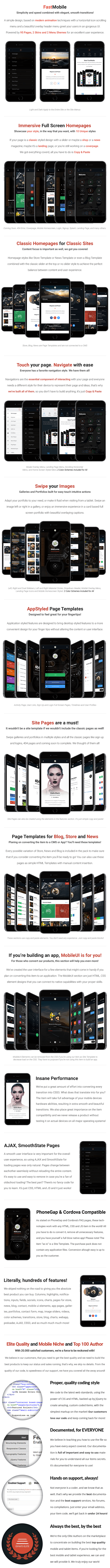 Fast Mobile | Mobile Template - 8