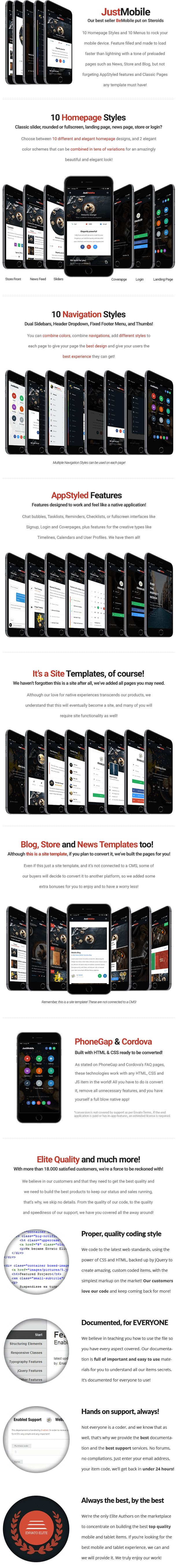 Just Mobile | Mobile Template - 8