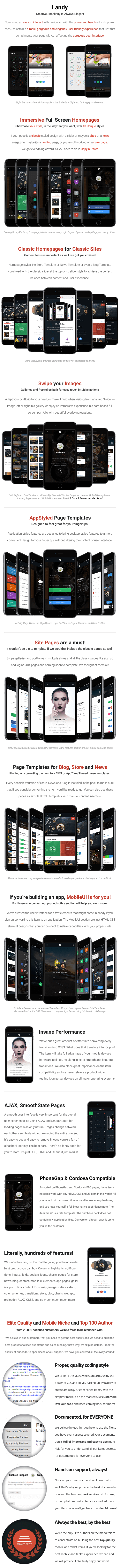 Landy Mobile | Mobile Template - 10