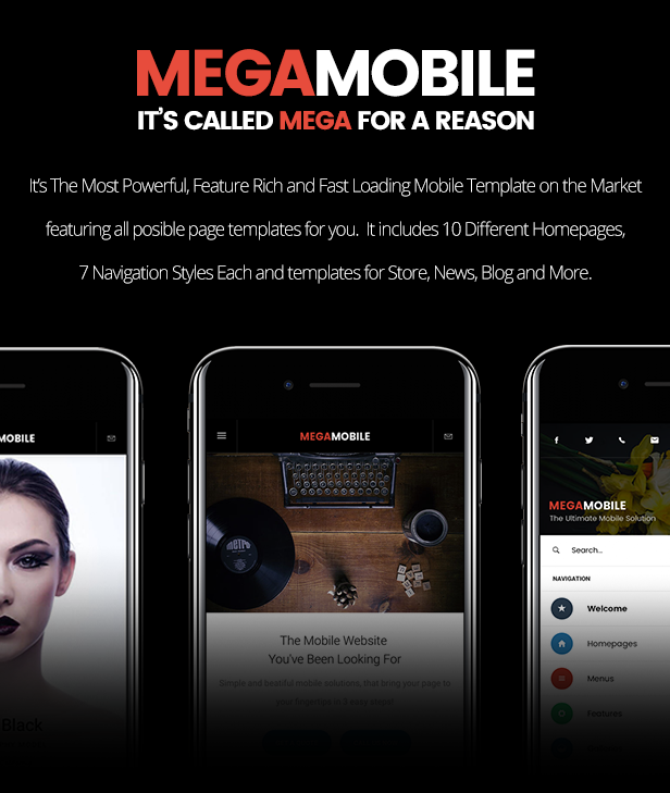 MegaMobile | PhoneGap & Cordova Mobile App - 10
