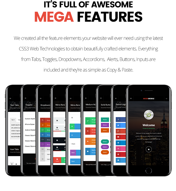 MegaMobile | PhoneGap & Cordova Mobile App - 16