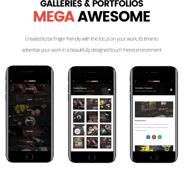 MegaMobile | PhoneGap & Cordova Mobile App - 17