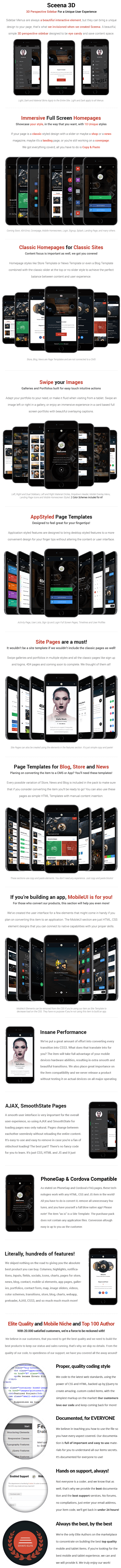 Sceena 3D | PhoneGap & Cordova Mobile App - 10