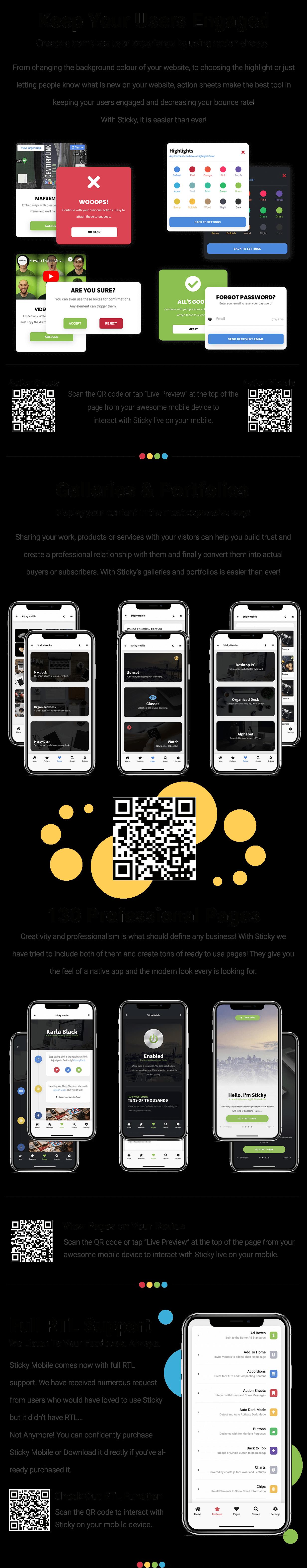 Sticky Mobile | PhoneGap & Cordova Mobile App - 16