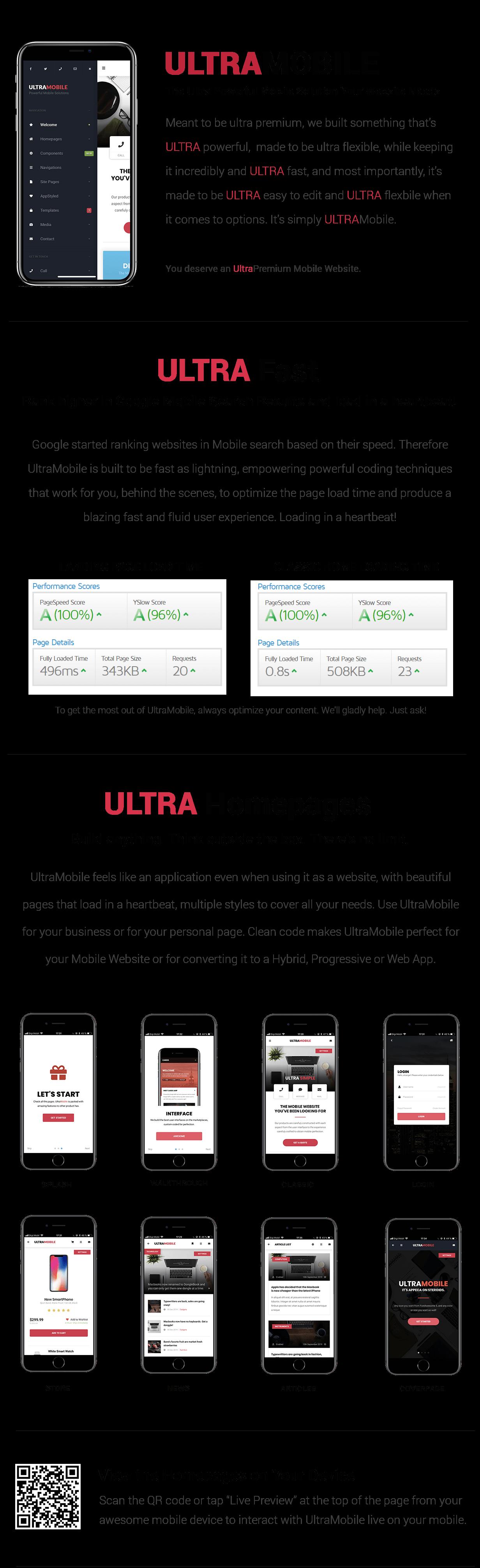 UltraMobile | PhoneGap & Cordova Mobile App - 11