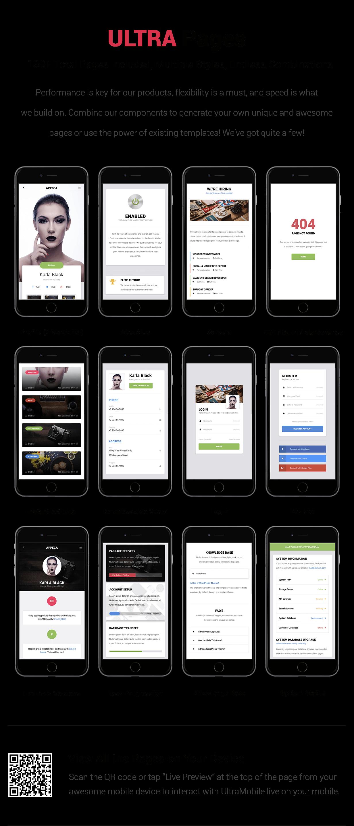 UltraMobile | PhoneGap & Cordova Mobile App - 18