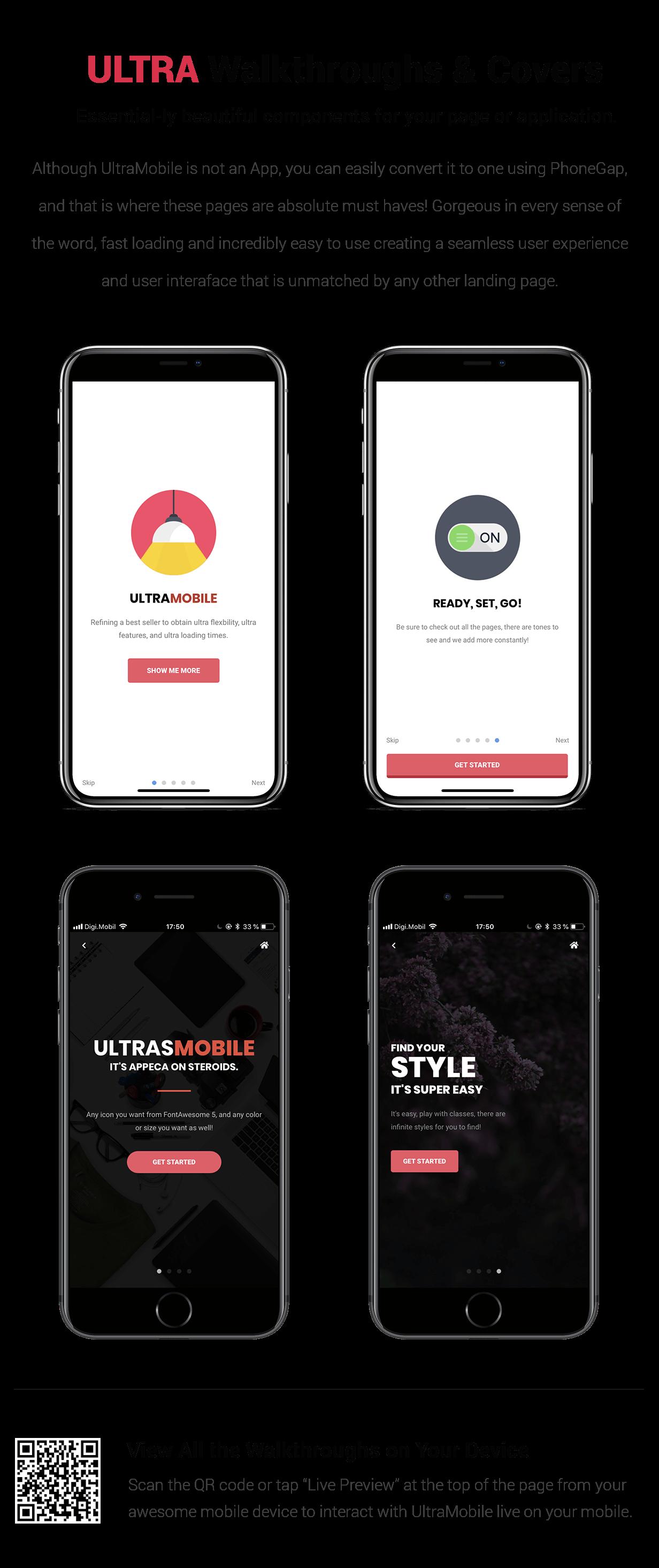 UltraMobile | PhoneGap & Cordova Mobile App - 20