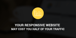 responsive website costs traffic