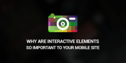 interactive elements in mobile websites