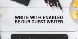 write with enabled be our guest writer