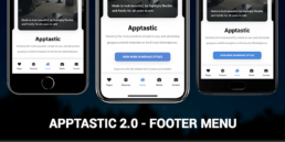 apptastic 2.0 new footer menu