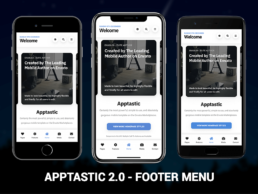 apptastic 2.0 footer menu