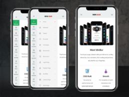 minibar phonegap & cordova app template
