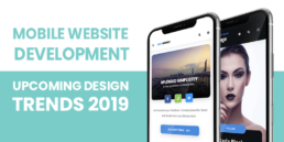 2019 new mobile website design trends