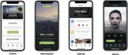 sticky mobile homepages