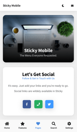 sticky featured