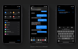 iOS 13 Enabled Compatibilities Dark Mode