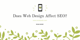 web design affects SEO