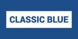 Classic Blue Pantone Colour of 2020