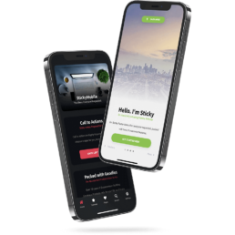 Sticky Mobile Bootstrap 5