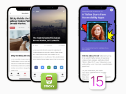 Sticky Instant Articles and iOS 15