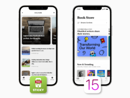 carousels on Sticky and iOS 15