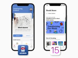 Azures Mobile iOS15