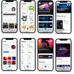 anonychat appkit mobile template pwa