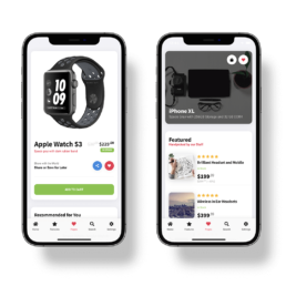 homepage sticky mobile ecommerce
