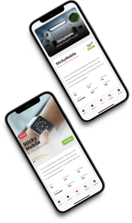 product page sticky ecommerce