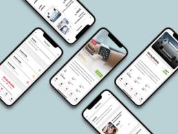 Sticky Ecommerce PWA Template ecommerce app template