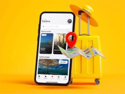 Sticky Travel App Template